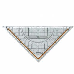Esquadro Geométrico Rotring 20cm