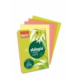 REY ADAGIO - Papel Fotocópia fluorescente sortido (cores intensas)