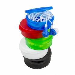 Auriculares com Caixa em Plástico