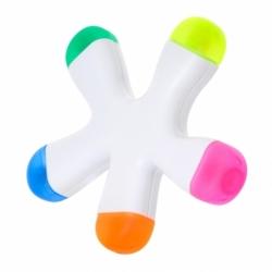 Marcador com 5 cores