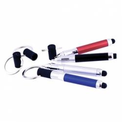 Esferográfica/ Porta-chaves com Ponteiro para Ecrã táctil