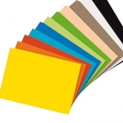 Cartolina Alto Brilho A4, 250g, colorida, (100 un)