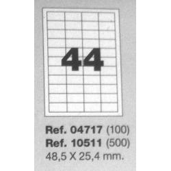 Etiquetas MULTI3, 48,5X25,4mm (100 folhas)