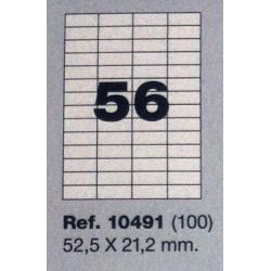 Etiquetas MULTI3, 52,5X21,2mm (100 folhas)