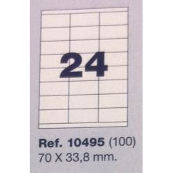 Etiquetas MULTI3, 70x33,8mm (100 folhas)