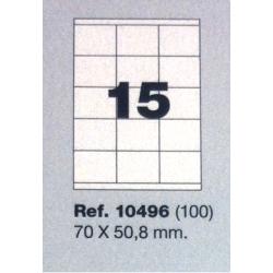 Etiquetas MULTI3, 70x50,8mm (100 folhas)