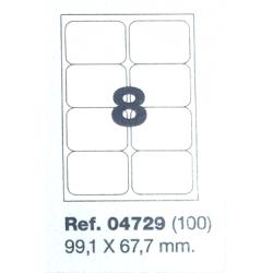 Etiquetas MULTI3, 99,1x67,7mm (100 folhas)