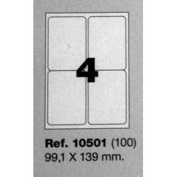 Etiquetas MULTI3, 99,1x139mm (100 folhas)