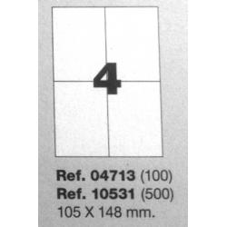 Etiquetas MULTI3, 105X148mm (100 folhas)