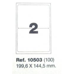Etiquetas MULTI3, 199,6x144,5mm (100 folhas)