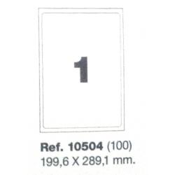 Etiquetas MULTI3, 199,6x289,1mm (100 folhas)