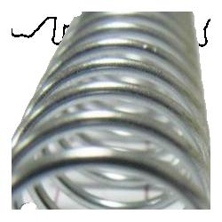 Espiral Metálico A4 Cinzento (6-50mm ~ 20-450 folhas)