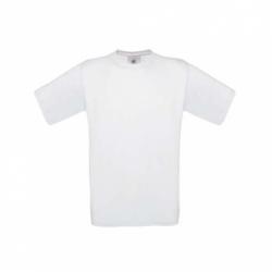 T-shirt B&C Exact 190 de Adulto - Branca