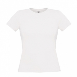 T-shirt B&C Women-Only 145g - Branca