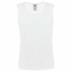 T-shirt B&C Athletic Move - Branca