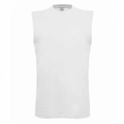 T-shirt B&C Exact Move - Branca