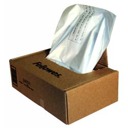 Sacos de resíduos para destruidoras de documentos