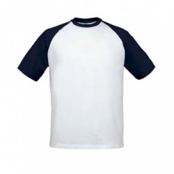 T-shirt B&C Base-Ball