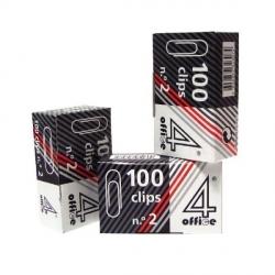 Clips Metálicos Nº3 (100 unidades)