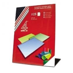 Cartolina A4 (Laranja Forte) - 125 folhas