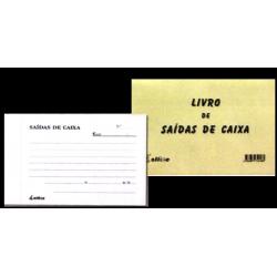 Livro de Saídas de Caixa (com autocopiativo)