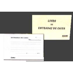 Livro de Entradas de Caixa (com autocopiativo)