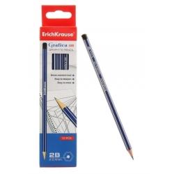 Lápis de grafite gráfica 2B 100 (pack 12 unid)