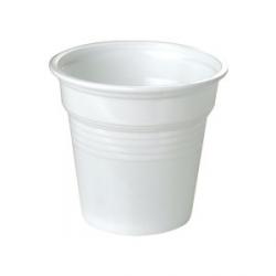 Copos de café - Plástico Branco 80cc