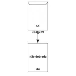 Envelope Branco C4