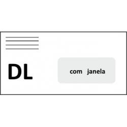 Envelope Branco DL