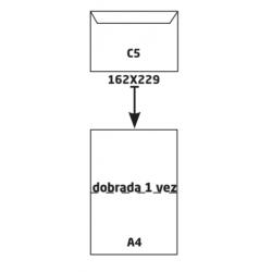 Envelope Branco C5